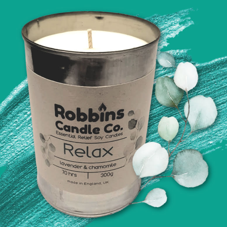 Relax Canned Candle