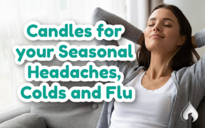 Candles for your Seasonal Headaches, Colds and Flu