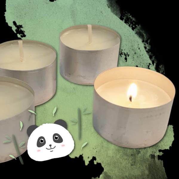 Panda Tealights