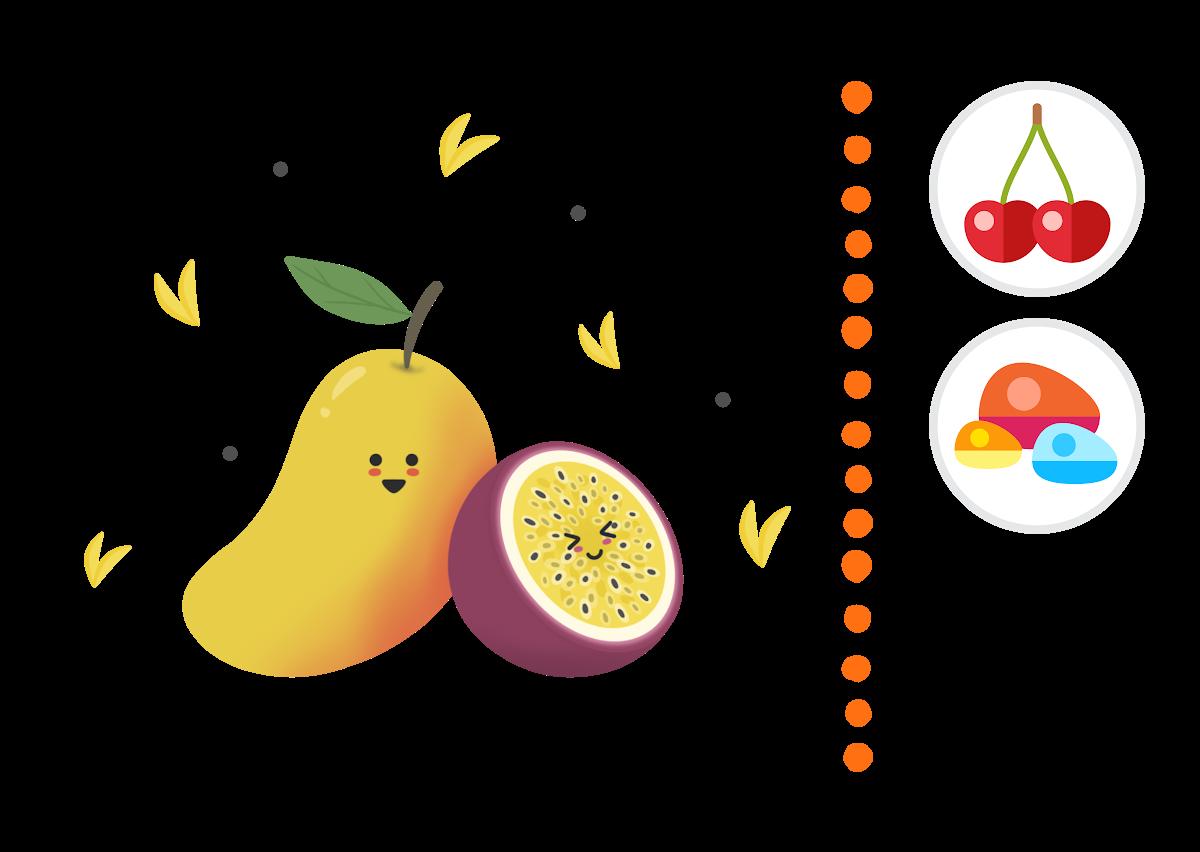 Mango & Passionfruit