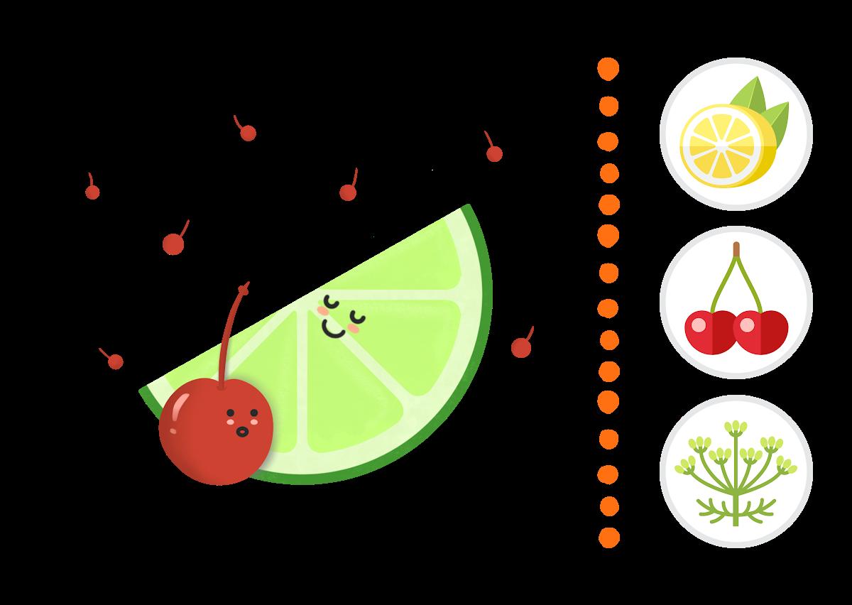 Cherry & Lime